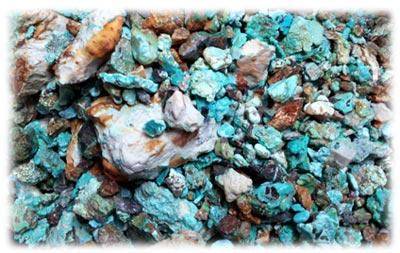 Genuine Turquoise - Carico Lake Turquoise - Ernie Montoya