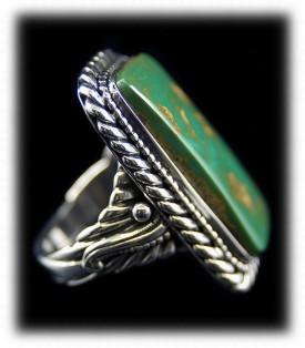 Manassa Turquoise Mens Ring