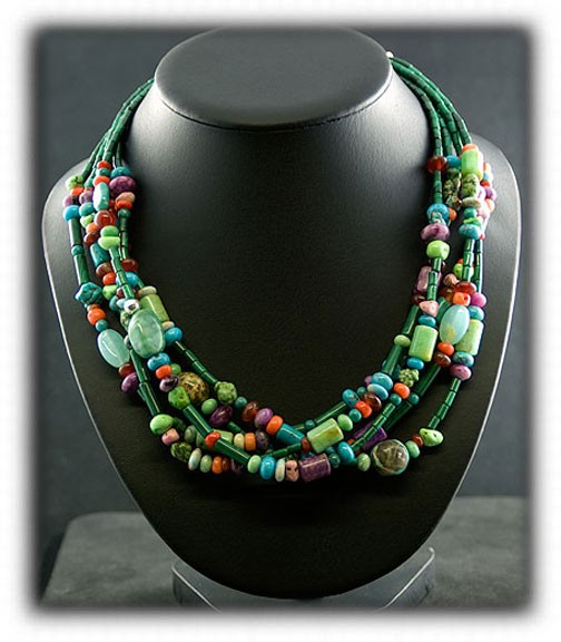 eco bead necklace necklaces acai beaded pambil green