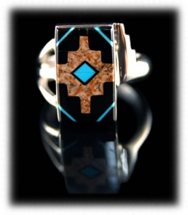 Handmade Native American Silver Ring