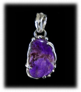 handmade Sugilite and Silver Jewelry