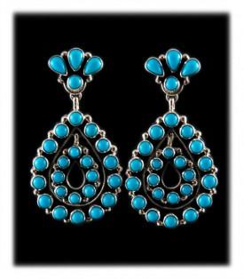 Heirloom Turquoise Earrings