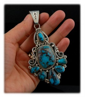 Heriloom Turquoise Jewelry with BIsbee Turquoise from Arizona