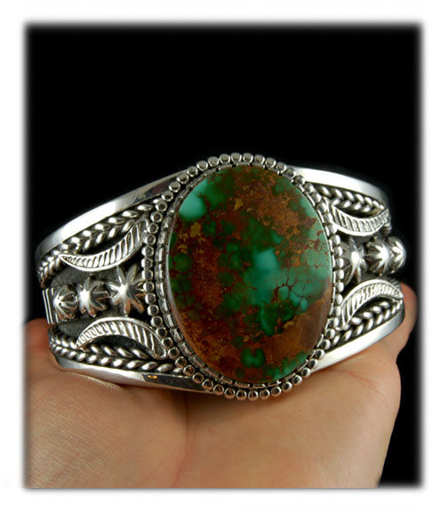 High Grade Green Turquoise Cabochon
