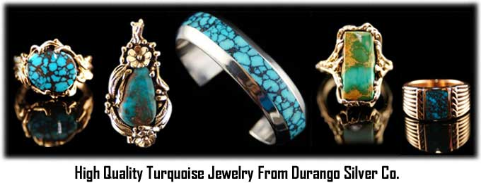 High Grade Turquoise Jewelry - Antique Turquoise