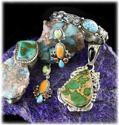 Indian Turquoise Jewelry