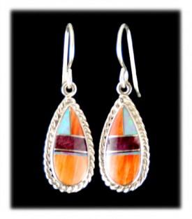 inlay jewelry earrings