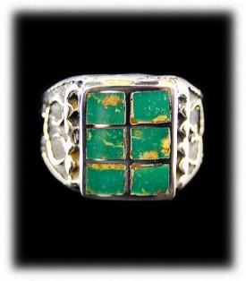 Free Battle Mountain Turquoise Ring