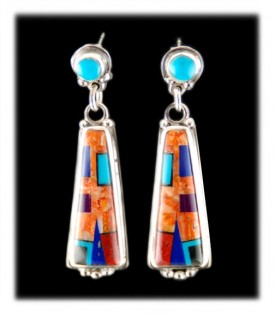 colorful-silver-inlaid-dangle-earrings