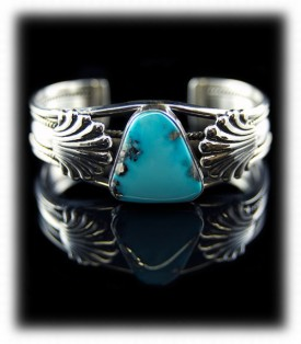 Morenci Turquoise Cuff Bracelet