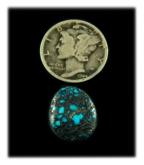 Authentic Lander Blue Turquoise Cabochons  Available