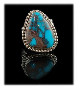 Men's Bisbee Turquoise Ring - Bisbee Turquoise Jewelry for Men