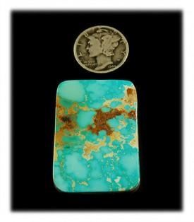 Blue Royston Turquoise Cabochon