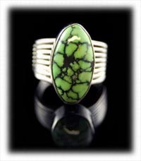 Lime Green Nevada Turquoise