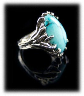 Fox Turquoise Womens Ring