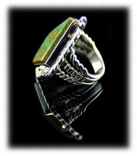 Manassa Gem Turquoise Ring