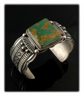Manassa Green Turquoise Bracelet