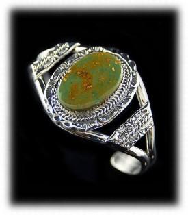 Manassa Navajo Turquoise Bracelet