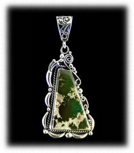 Manassa Green Turquoise Jewelry