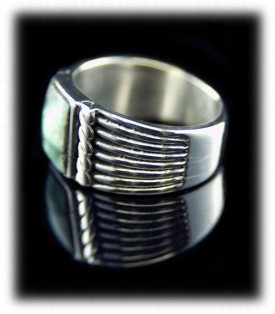 Mens Silver Rings - Saddle type Rings