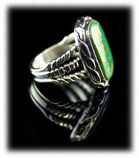 Manassa Mens Turquoise Ring