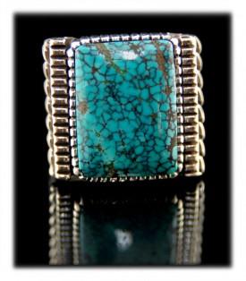 Mens Navajo Turquoise Rings
