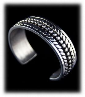 Mens Sterling Silver Bracelet - Silver Jewelry