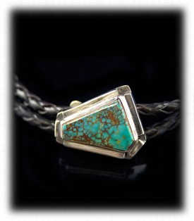 Mens Turquoise Bolo, Mens Turquoise Tie