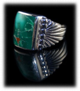 Mens Turquoise Rings Video Presentation Page