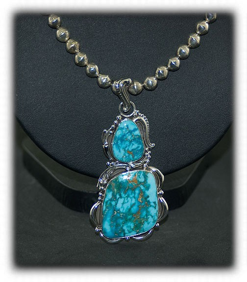 Morenci Blue Turquoise Necklace