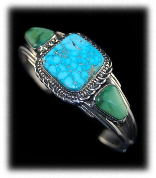 Morenci Turquoise Jewelry by John Hartman