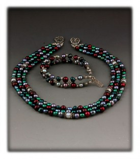 Multi Strand Bead Necklaces