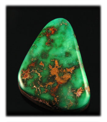 Natural American Turquoise from the Blue Gem Mine