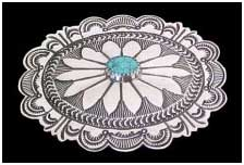 navajo indian turquoise jewelry buckle