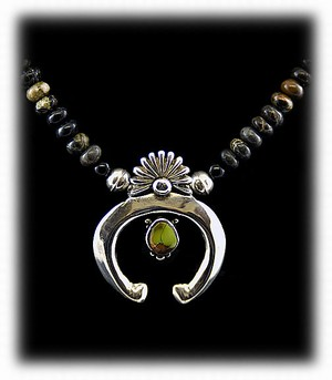 Navajo Naja Necklace - Jewelry by Durango Silver