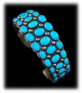 Handmade Navajo Silver Bracelet