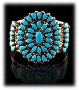 Native American Turquoise Jewelry Bracelet