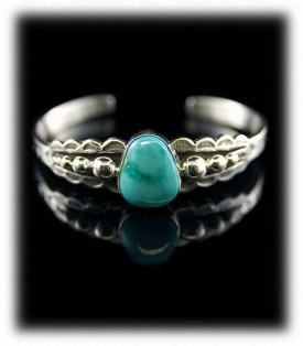Blue Womens Turquoise Cuff Bracelet
