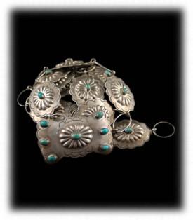 Ceremonial Style Navajo Turquoise Jewelry