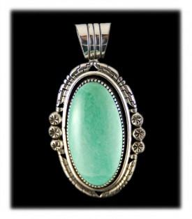 Navajo Turquoise Jewelry Pendant