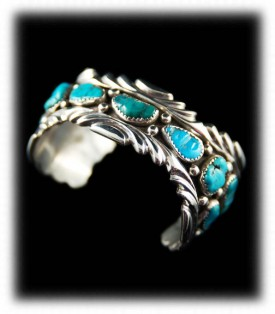 Navajo Turquoise Necklace - Navajo Jewelry