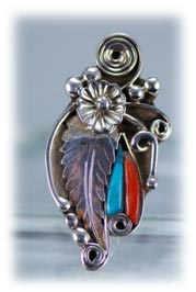 Classic Navajo ladies genuine Turquoise ring with Sterling Silver
