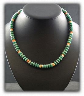Green Nevada Turquoise Beads