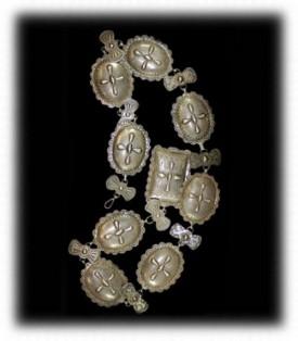 Navajo Silver Concho Belt - Vintage Navajo Silver Jewelry