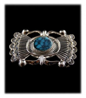 Paiute Turquoise Buckle