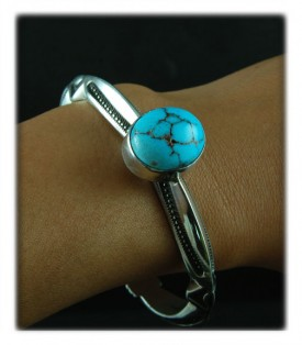 Persian Blue Turquoise Cabochon