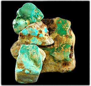Quality Turquoise from the Hartman Collection