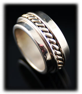 Quality Silver Wedding Ring Bands