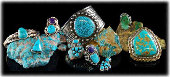 Rare Turquoise By Durango Silver Company