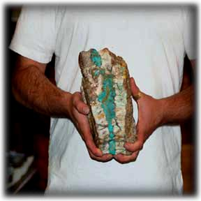Rare Turquoise by Durango Silver Co
